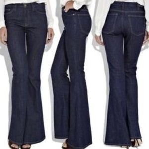 Current/Elliott High-Rise Flare Leg Jeans